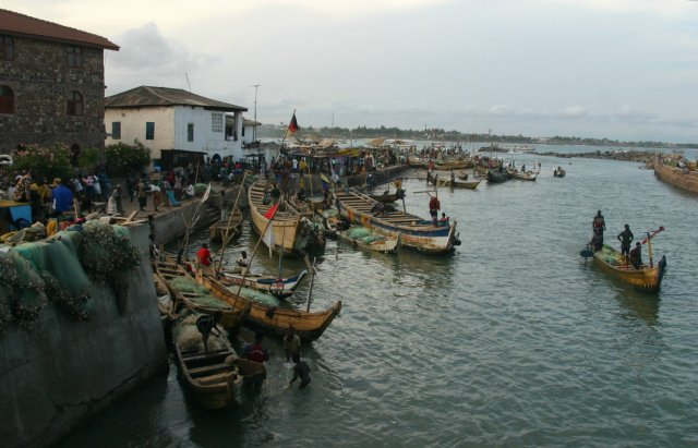 Elmina is the name of a Portugese colony built in 1482 in coastal Ghana. (piqs.de ID: 503e058c98d820b9e0c776482f61f71a)